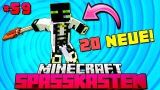 20 BRANDNEUE ANIMATIONEN?! - Minecraft Spasskasten #59 [Deutsch/HD]