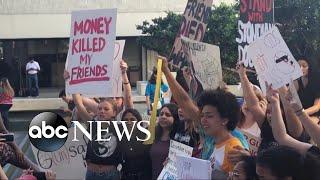 Survivors of the Parkland school shooting demand change
