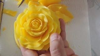 How to Carving a rose in soap - Rosas em sabonete - Cem Aromas