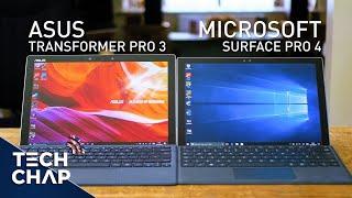 Surface Pro 4 vs Transformer Pro 3   Best 2-in-1?