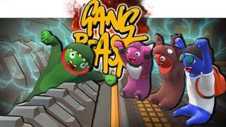 ZU TODE ZERQUETSCHT!? | Gang Beasts - Witzige Momente (Funny Moments German)