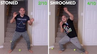 Weed VS Shrooms Challenge (CONDENSED VERSION)
