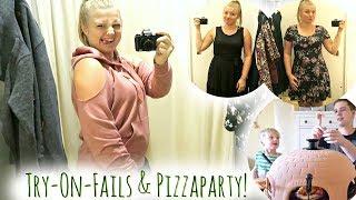 Umkleidekabine Fails | Familien-Pizza-Party | Familienvlog #74