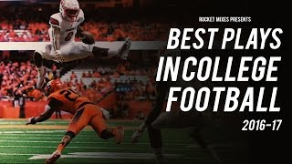 Best Plays of the 2016-17 College Football Season