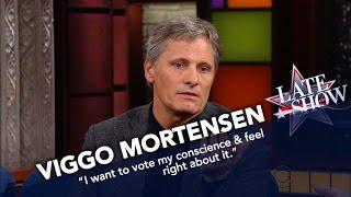 Viggo Mortensen Is Voting For Dr. Jill Stein