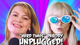 "Paramore ""Hard Times"" PARODY! The Key of Awesome UNPLUGGED"