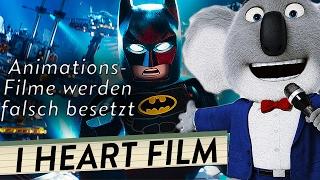 Falsche Wahl der Synchronsprecher machen Animationsfilme kaputt | I Heart Film #58