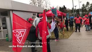 Warnstreiks bei BSH und Siteco in Traunreut