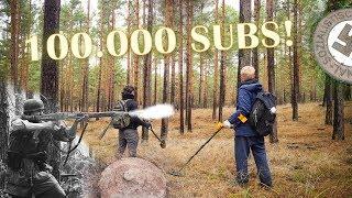 100K SPECIAL - Forgotten WW2 Battlefield (East Germany)