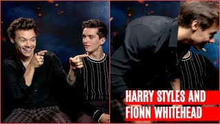 Harry Styles and Fionn Whitehead describe their ideal movie night | Dunkirk interview