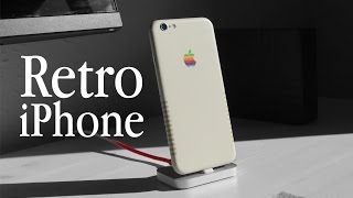 Mein neues RETRO iPHONE! (Skin) | Oskar