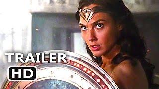 JUSTICE LEAGUE Official Trailer # 2 Wonder Woman TEASER (2017) Superhero Movie HD