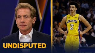 Skip and Shannon react to Lonzo Ball walking away from a scuffle against the Suns | UNDISPUTED