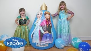 NEW 2016 FROZEN SUPER GIANT EGG SURPRISE Fun Toys Video for Kids The Disney Toy Collector