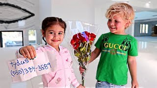 THIS BOY ASKED ELLE ON A DATE!!! **AUSTIN FREAKED OUT**