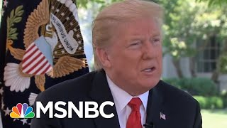 President Donald Trump Criticizes Fed Chair And Threatens More Tariffs | Velshi & Ruhle | MSNBC