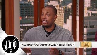 Paul Pierce on Kevin Durant: Most dynamic scorer in NBA history | The Jump | ESPN