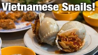 Vietnamese Snail Feast in Saigon - Ốc A Sòi Restaurant