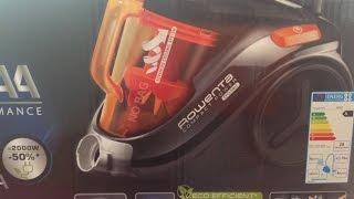 Rowenta compact power cyclonic unboxing