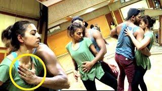 Radhika Apte & Terence Lewis Rehearses For Asha Bhosale
