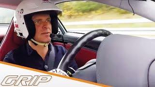 400-km/h-Rekordversuch mit Mercedes SLR McLaren - GRIP - Folge 386 - RTL2