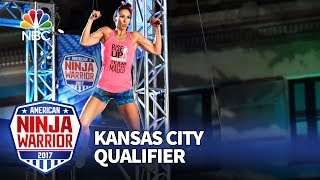 Maggi Thorne at the Kansas City Qualifiers - American Ninja Warrior 2017
