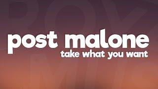 Post Malone - Take What You Want (Lyrics) ft. Ozzy Osbourne, Travis Scott