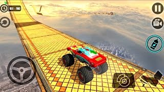Crazy Monster Truck Legends 3D #2 -  Impossible Stunt Car Tracks 3D | BamBi Tv - Android GamePlay HD