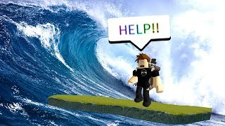 GOING TO A ROBLOX DISASTER ISLAND *IMPOSSIBLE*