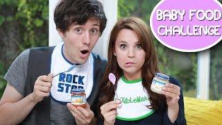 BABY FOOD CHALLENGE! ft Kurt Hugo Schneider