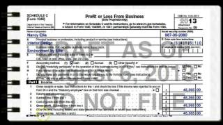 Lesson 2 - Self Employment Income & Taxes