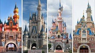 The Evolution Of Castles In Disney Theme Parks! DIStory Episode 3: Disney Theme Park History