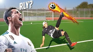 ULTIMATE FOOTBALL CHALLENGES - Max vs Lukas
