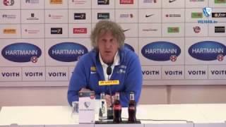 Die Pressekonferenz nach der Partie 1. FC Heidenheim - VfL Bochum 1848