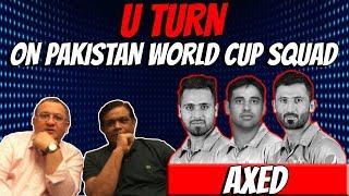 U TURN ON PAKISTAN WORLD CUP SQUAD | Caught Behind