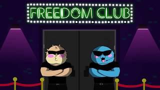 TANZPARTY AUF DEM LASER! - Freedomsquad am abdancen   Paluten Animation