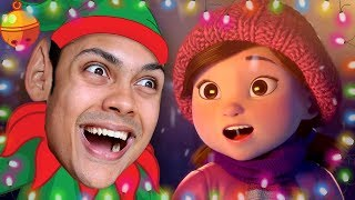 REACTING TO CHRISTMAS ANIMATIONS (CHRISTMAS 2017)