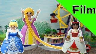 """Playmobil Film deutsch """"Rapunzel, Schneewittchen und Cinderella - Zeitreise """" / Kinderfilm"""