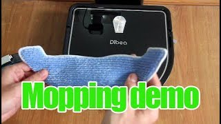 Dibea D960 Mopping Demo