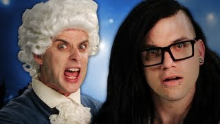 Mozart vs Skrillex. Epic Rap Battles of History Season 2.