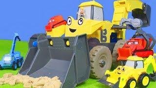 BAGGER KRAN LASTWAGEN & BAUSTELLE Kinderfilm | BOB der BAUMEISTER Bob the Builder deutsch für KINDER