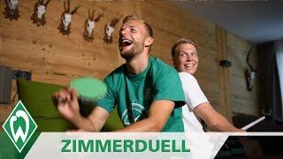 Zimmerduell: Lennart Thy & Janek Sternberg | SV Werder Bremen