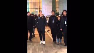 160130 Kris Wu Yi Fan at Shanghai-talking with fans