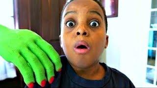 Bad Baby Creepy Hand ATTACKS Shiloh and Shasha -  Onyx Kids