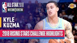 Kyle Kuzma Shines in 2018 Rising Stars Game | Presented by Mtn Dew Kickstart