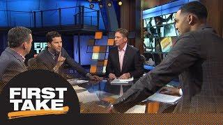 First Take reacts to Spurs trading Kawhi Leonard to Raptors for DeMar DeRozan | First Take | ESPN