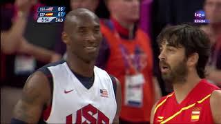 Final JJOO Londres 2012 España 100 - 107 Estados Unidos (Parte 2)
