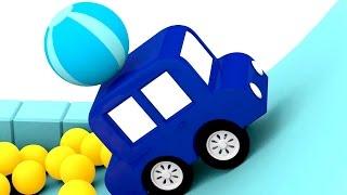 Lehrreicher Zeichentrickfilm - Die 4 kleinen Autos - Der Staffellauf