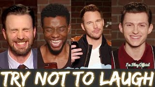 Avengers: Infinity War Bloopers and Funny Moments(Part-1) - Try Not To Laugh 2018