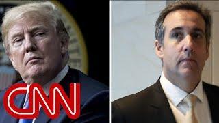 President Trump says his attorney won